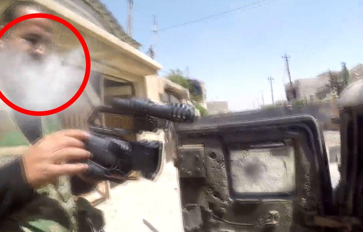 Un sniper lui tire dessus... sa GoPro lui sauve la vie - Le Rewind  – Capture d'écran