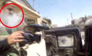 Un sniper lui tire dessus... sa GoPro lui sauve la vie - Le Rewind