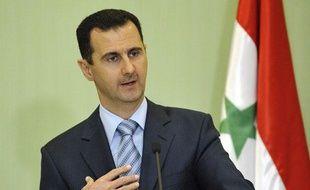 Le président syrien Bachar el-Assad à Damas, en janvier 2009.