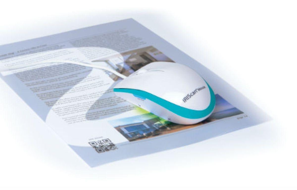 Balayer les documents avec la souris suffit pour les copier, textes et photos comprises. – I.R.I.S.