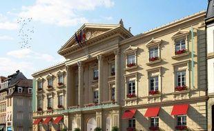 Le futur hôtel 5 étoiles rue de la Nuée Bleue à Strasbourg.