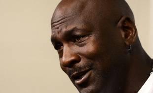 Michael Jordan en octobre 2014.
