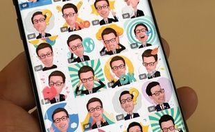 Les Emojis RA de Samsung, lancés sur les Galaxy S9 et S9+.