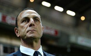 L'entraîneur nantais Michel Der Zakarian.