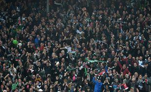 Les fans du club de Plymouth Argyle.
