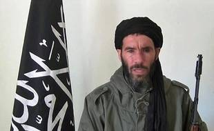 An undated grab from a video obtained by ANI Mauritanian news agency reportedly shows former Al-Qaeda in the Islamic Maghreb (AQIM) emir Mokhtar Belmokhtar speaking at an undisclosed location. Islamists are holding 41 foreigners hostage, including seven Americans, after an attack on a gas field in eastern Algeria, a spokesman for the militants told two Mauritanian news websites. AFP PHOTO / HO / ANI