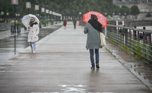 Illustration pluie à Bordeaux