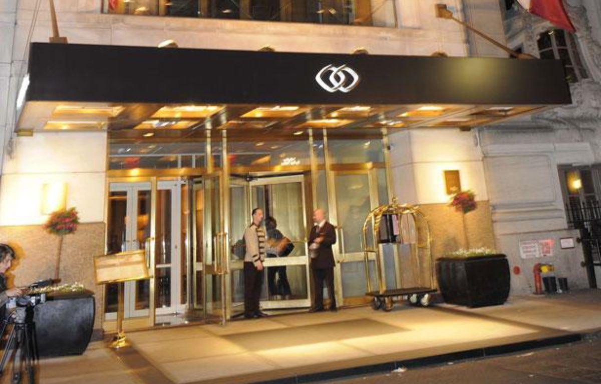 L'hôtel Sofitel de New-York, dans lequel Dominique Strauss-Kahn est accusé d'avoir agressé sexuellement une femme de chambre, le 15 mai 2011. – BEHAR ANTHONY/SIPA