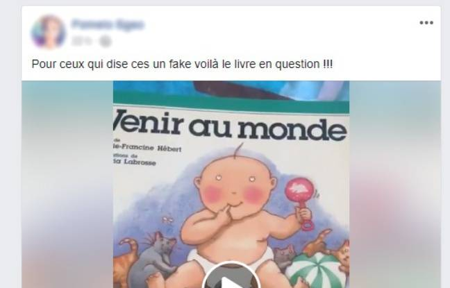 Capture d'écran de la vidéo à l'origine de la polémique, qui a depuis été supprimée.