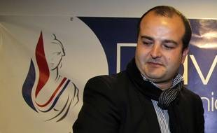 David Rachline, à Fréjus, le 27 mars 2014.