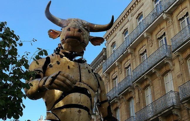 VIDEO. Toulouse: Pourquoi vous n'en avez pas fini avec l'incroyable Minotaure