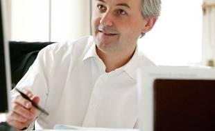 François Pérol, secrétaire général adjoint de l'Elysée, le 12 juillet 2007.