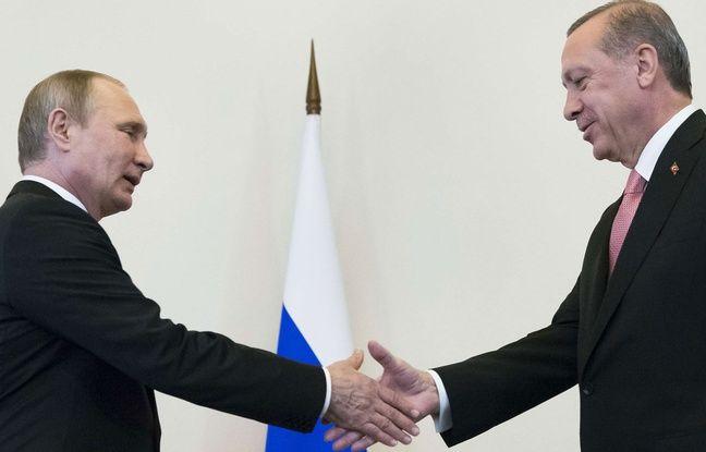 Offensive turque contre les Kurdes: Vladimir Poutine a invité Recep Tayyip Erdogan en Russie «dans les prochains jours»