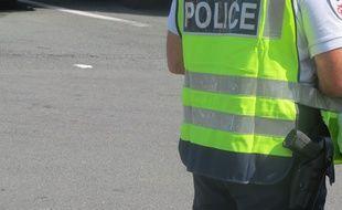 Illustration d'un policier.