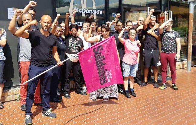 Les salariés ont entamé un mouvement de grève illimité.