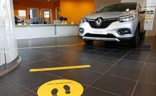 Un concessionnaire Renault (image d'illustration).