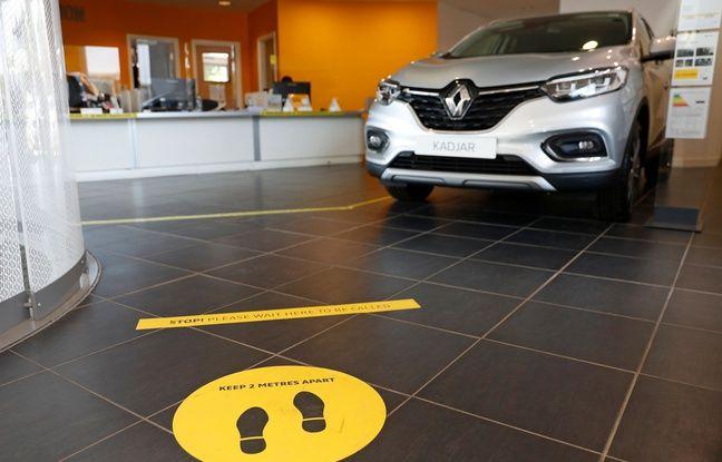 Renault: Le gouvernement valide le prêt garanti de cinqmilliards d'euros