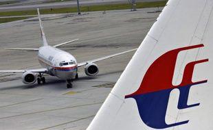 Un avion de la compagnie Malaysia Airlines, à l'aéroport international de Kuala Lumpur, le 26 février 2007