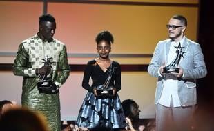 Mamadou Gassama, Naomi Wadler et Shaun King récompensés aux BET Awards à Los Angeles le 24 juin 2018