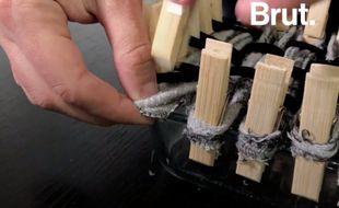 Brut propose un tuto pour fabriquer ses éponges à partir de vieilles chaussettes