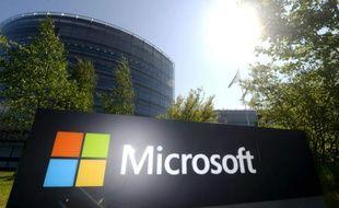 Siège de Microsoft, à Espoo près d'Helsinki en Finlande le 25 mai 2016