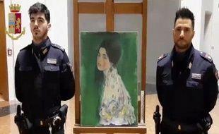 Un tableau volé de Klimt a été retrouvé par hasard en Italie.
