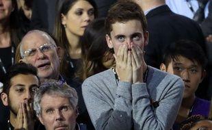 Des supporteurs d'Hillary Clinton, sous le choc, le 8 novembre 2016.