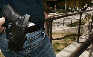 Une étudiant portant une arme à feu, dans une université de l'Utah.