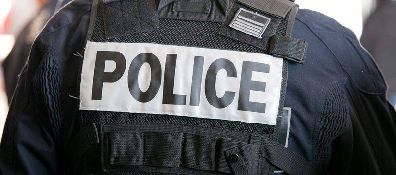 Un policer à Marseille. (illustration)