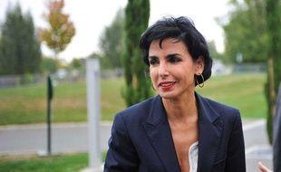 Rachida Dati, maire du 7e arrondissement de Paris et eurodéputée, lors des Journées parlementaires de l'UMP à Saint-Cyr-sur-Loire, le 14 octobre 2011.