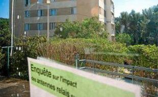 La résidence la Pinette à Aix.