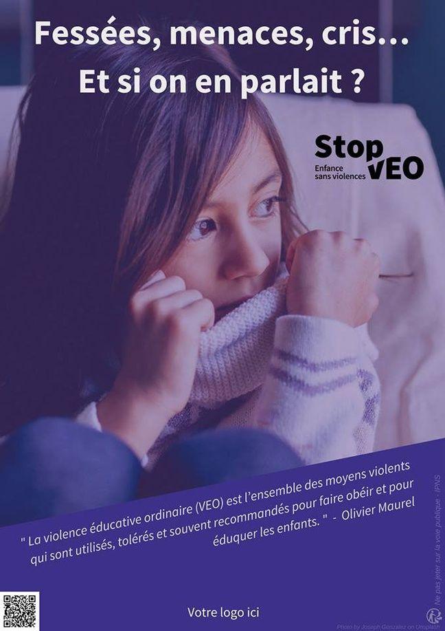 Illustration d'une campagne contre les violences éducatives ordinaires.