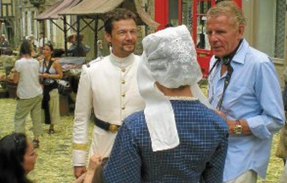 PPDA, en juin dernier à Dinan, sur le tournage de son téléfilm Mon frère Yves. –  J. GICQUEL / APEI / 20 MINUTES