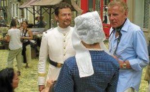 PPDA, en juin dernier à Dinan, sur le tournage de son téléfilm Mon frère Yves.