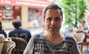 Le DJ Jérôme Pacman à Paris le 5 juillet 2018.