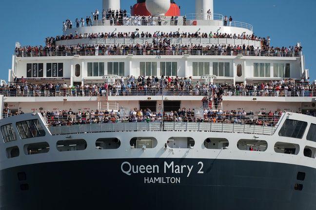 2.000 ont pris place à bord du Queen Mary 2.