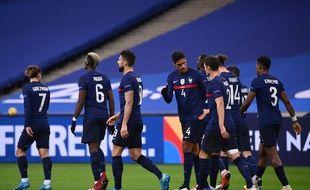 Les Bleus face à la Suède, le 17 novembre 2020 au Stade de France.