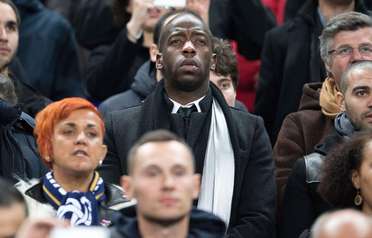 Souleymane Diawara, lors d'un match de l'équipe de France de foot. – SIPA
