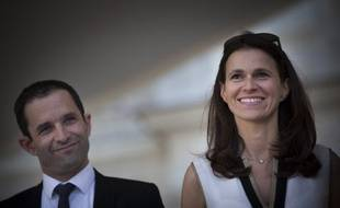 Benoît Hamon et Aurélie Filippetti