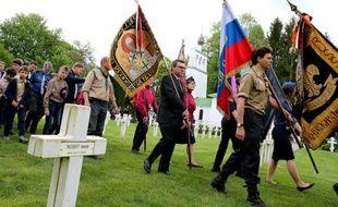 Commémoration le 15 mai 2016 à Saint-Hilaire-le-Grand (Marne) du centenaire de l'arrivée des soldats russes en Champagne lors de la Première Guerre mondiale