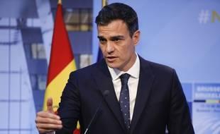 Le Premier ministre espagnol Pedro Sanchez, le 12 juillet 2018.