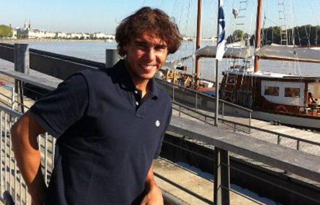Rafael Nadal à Bordeaux début septembre 2012.