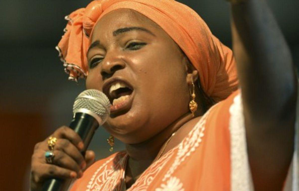 La députée kényane de l'opposition Mishi Mboko – TONY KARUMBA / AFP