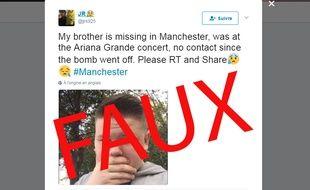 Suite à des attentats, des internautes inventent des fausses disparitions.