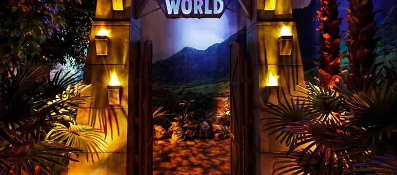 Bienvenue à Jurassic World... enfin à l'exposition «Jurassic World»