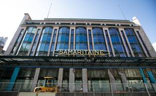Le bâtiment de la Samaritaine, à Paris le 2 avril 2021.