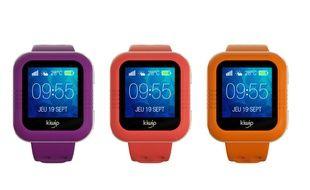 Exemple de montres connectées pour enfants, ici de la marque KiwipWatch.