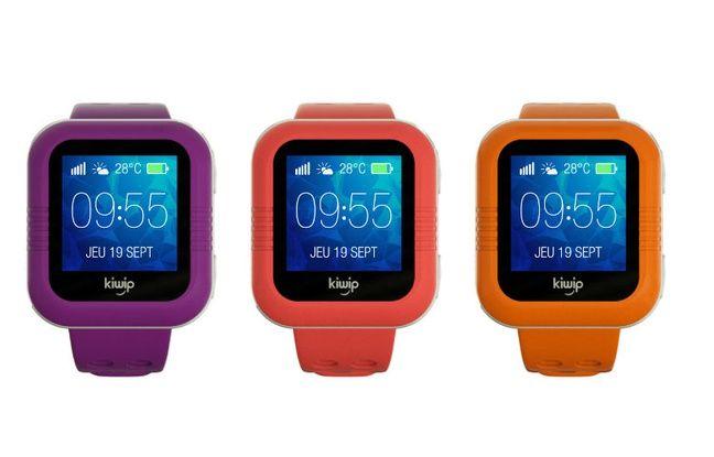 Hyper-connectée, la montre pour enfants KiwipWatch permet de garder le contact en toutes circonstances.