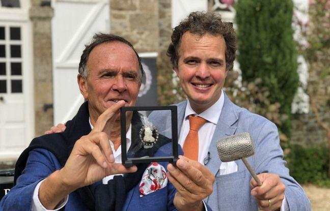 Le médaillon sera vendu aux enchères ce week-end lors d'une grande vente organisée par Philippe et Aymeric Rouillac.