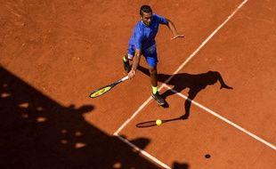 Nick Kyrgios lors de son premier tour à Roland-Garros, le 31 mai 2017.